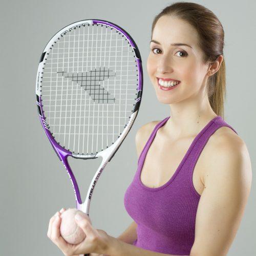 ragazza tennis